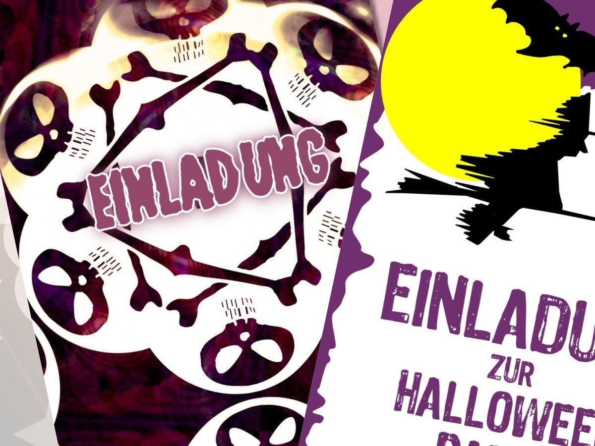 halloween einladungen | halloween party tipps und dekoration von, Einladung