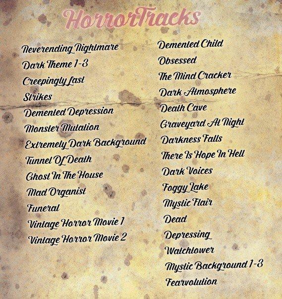 horrortracks-liste