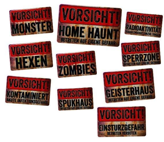 Halloween Schilder Vorsicht Halloween Party Tipps Und