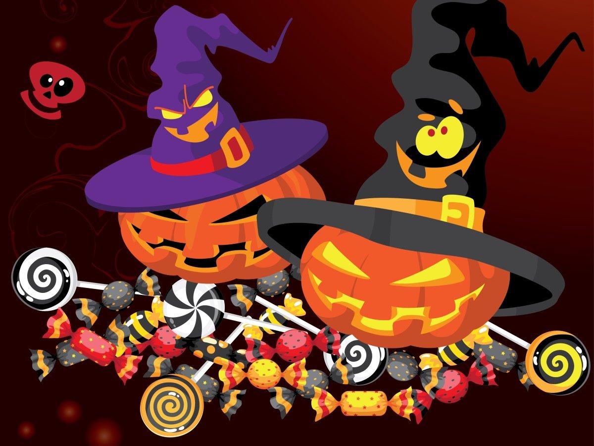 Schön Süßigkeiten Ideen Für Halloween Galerie - Framing Malvorlagen ...