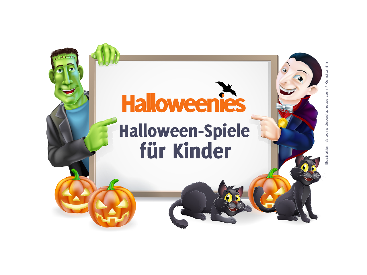 halloween spiele f r kinder und erwachsene. Black Bedroom Furniture Sets. Home Design Ideas